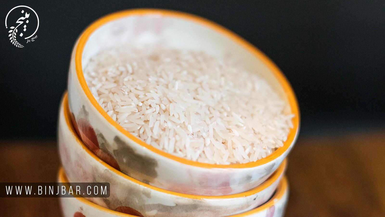 نگهداری درست از برنج
